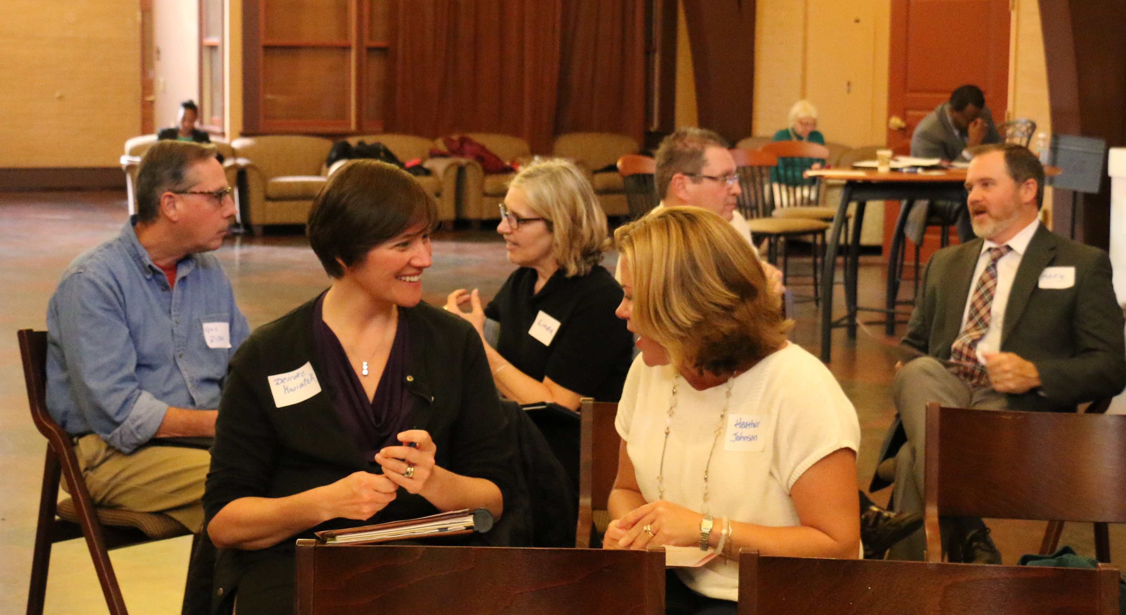 Employee Workshop Conversation