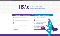 image of Health Equity HSA website